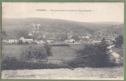 CPA Très Rare - OISE - BONNEUIL - VUE PANORAMIQUE ET FORET DE VILLERS-COTTERETS - Collection E. Boisnier - France