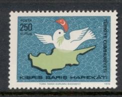 Turkey 1974 Cyprus Peace Operation MUH - Unused Stamps
