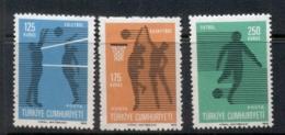 Turkey 1974 Volleyball MUH - Unused Stamps