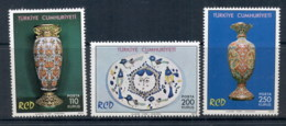 Turkey 1975 Regional Cooperation For Development, Ceramics MUH - 1921-... Republic