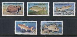 Turkey 1975 Marine Life, Fish MUH - Unused Stamps