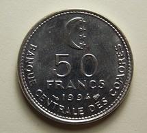 Comoros 50 Francs 1994 - Comores