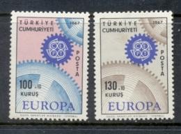 Turkey 1967 Europa MUH - 1921-... Republic