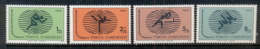 Turkey 1978 GYMNASIADE World School Games MUH - Unused Stamps