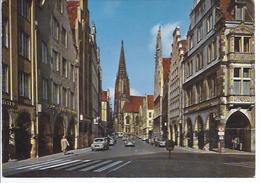 Wz-rot1 - Münster Westfalen - Prinzipalmarkt Und Lombardikirche - Muenster