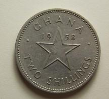 Ghana 2 Shillings 1958 - Ghana
