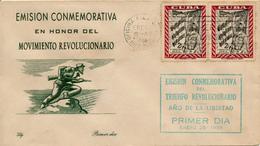 CUBA - 28.1.1959   FDC  , Jahrestag Der Revolution - FDC