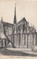 CP , 80 , AMIENS , La Cathédrale, Abside - Amiens