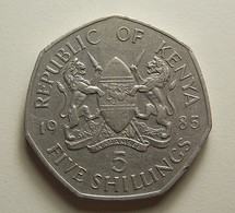 Kenya 5 Shillings 1985 - Kenia