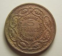 Tunisia 5 Francs 1946 - Tunisie