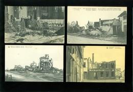 Beau Lot De 60 Cartes Postales De Belgique  Guerre  Ruines     Mooi Lot Van 60 Postkaarten Van België  Ruinen  Oorlog - Cartes Postales