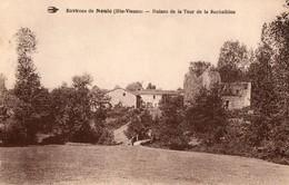 87. CPA.  ROCHELIDOU.  Ruines De La Tour De Rochelidou, Près Nouic. 1935. - Autres Communes