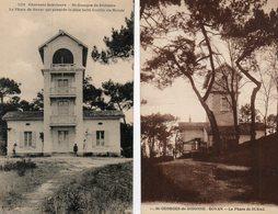 17.  2 CPA. SAINT GEORGES DE DIDONNE ROYAN. La Phare De Suzac, La Plus Belle Lentille Du Monde - Phares