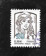 TIMBRE OBLITERE DE FRANCE DE 2018 MARIANNE 2013/2018 - France