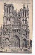CP , 80 , AMIENS , Cathédrale, Façade Occidentale - Amiens