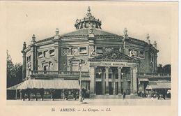 CP , 80 , AMIENS , Le Cirque - Amiens