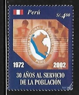 Peru 2004 National Civil Defense System MNH - Peru