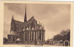 CP , 80 , AMIENS , La Cathédrale, L'Abside - Amiens