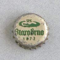 Capsule Bière  Brasserie Rép Tchèque, Starobrno (crown Beer Cap, Kronkorken, Tappi Birra) - Bière