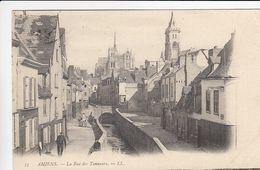 CP , 80 , AMIENS , La Rue Des Tanneurs - Amiens
