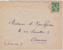 TAD Hexagonal Poste Automobile Rurale Nonancourt CP N°4 / Eure, 31/01/1940 - Storia Postale