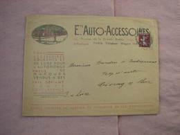Auto-Accessoires 1929  Lot De 5 Pièces Concernant L'automobile Voir Description Et Photos  T.B.E. - Cars