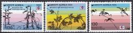 South Korea KPCC1347-9 PHILAKOREA 1994, Painting, Winter Scene, Grape Vines, Crane, Exposition Philatélique - Expositions Philatéliques