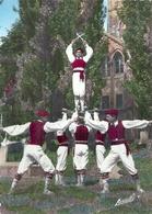 LANDES - 40 - CPSM GF Couleur - Ballets Basques ETORKI - Danse De La Biscaya - France