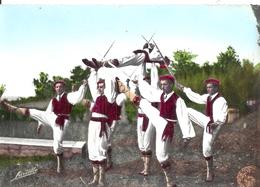 LANDES - 40 - CPSM GF Couleur - Ballets Basques ETORKI - La Mort Du Chef Biscaye - France