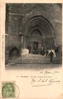 84 - VALREAS - Eglise - Porte Principale - Valreas