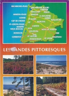LANDES - 40 - CPSM GF Couleur -Multivues - Les Landes Pittoresques - France