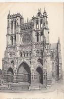 CP , 80 , AMIENS , La Cathédrale , Façade - Amiens
