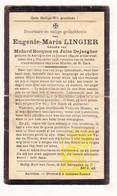 DP Eugenie M. Lingier ° Aartrijke Zedelgem 1894 † 1938 X M. Bocquez Xx J. Dejaegher - Images Religieuses
