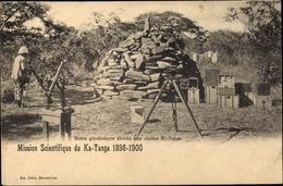 Cp Ka Tanga Republik Kongo Französisch Kongo, Butte Geodesique Elevee Aux Chutes Ki Oubo - South Africa