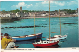 Donaghadee, Co. Down - Harbour And Town - (1975) - (N.Ireland) - Down