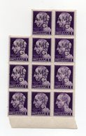 Italia - Trieste - 1945 - Lotto 11 Francobolli Da 1 Lira Sovrastampati A.M.G.V.G. - Nuovi - Vedi Foto - (FDC13849) - 7. Trieste