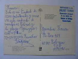 "Cartolina Viaggiata ""ESTACION C.B. JULET TANGO VALENCIA"" - CB"