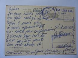 "Cartolina Viaggiata ""ESTACION LIMA PAPA LISBOA"" 1988 - CB"