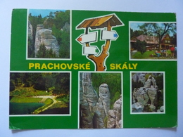 "Cartolina Viaggiata ""PRACHOVSKE SKALY"" 1970 - Repubblica Ceca"