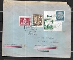 Allemagne III Reich Lettre Du 01 12 1937 De Berlin Pour Watrelos  ( Roubaix ) - Allemagne