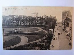 BELGIË - WEST-VLAANDEREN - BLANKENBERGE - Léopoldstraat En Tennis - Blankenberge