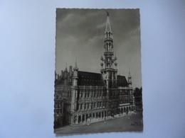 """Cartolina  Viaggiata """"BRUXELLES Hotel De La Ville"""" 1959 - Monumenti, Edifici"""