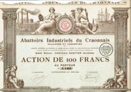 53-ABATTOIRS INDUSTRIELS DU CRAONNAIS. CHATEAU-GONTIER. - Other