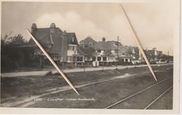 De Haan, Coq Sur Mer,Avenue Rembrandt, Fotokaart, 2 Scans - De Haan