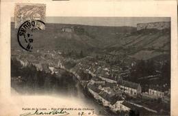 25 - Vallée De La Loue - Vue D'ORNANS Et Du Château - Autres Communes
