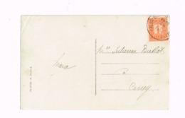 """Oblitération """"Arlon -Bruxelles"""" Sur Carte Expédiée à Ciney. - Postmark Collection"""