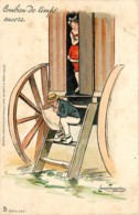 Fantaisie - Illustrateur - Lance Thackeray - Combien De Temps Encore.... - Edit. Tuck & Fils - Série 324 - Illustrateurs & Photographes