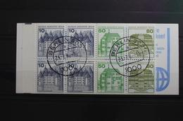 Berlin MH 13a Pf I OZ Gestempelt Markenheftchen Plattenfehler #SG368 - Markenheftchen