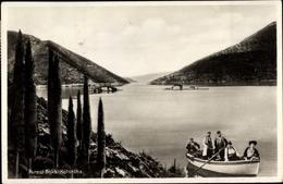 Cp Perast Montenegro, Boka Kotorska, Bucht Von Kotor, Ruderboot, Volkstrachten - Montenegro