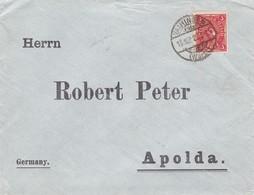 Brief Aus Vaihingen 1922 - Allemagne